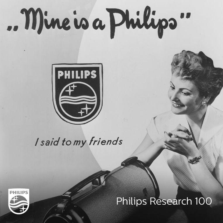 Philips-stofzuiger uit de oude doos. Beeld Philips