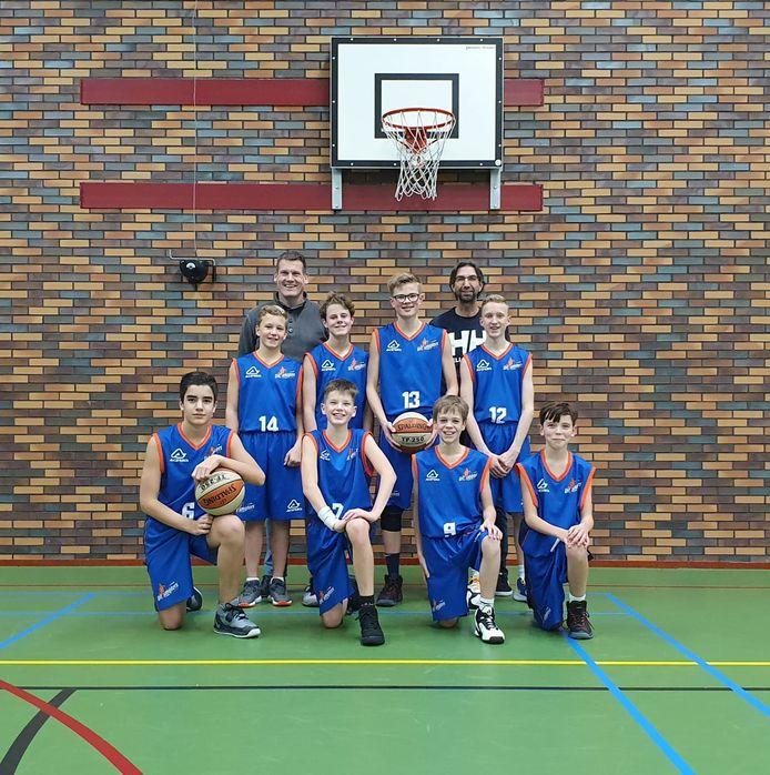 Ongekroonde Kampioenen: Uitsmijters U14-1