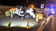 VIDEO. Drie gewonden op Brusselse Ring nadat automobilist inrijdt op wegenwerken
