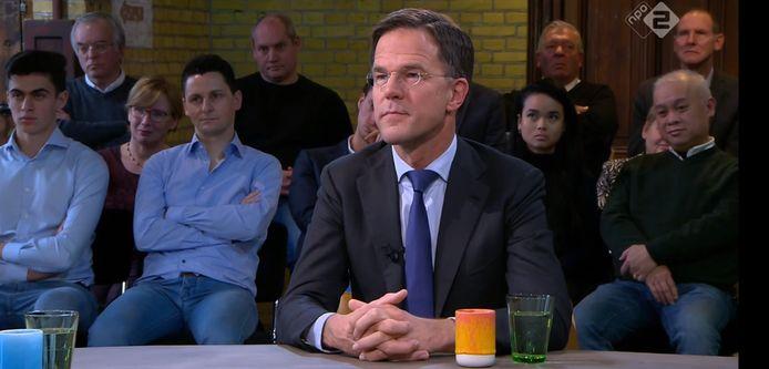 Mark Rutte te gast bij Buitenhof.