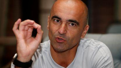 """Roberto Martínez doet het land geloven in een stunt tegen Brazilië: """"Als we goed zijn, maken we een grote kans"""""""