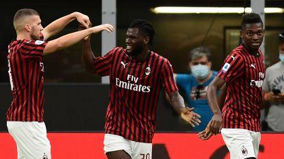Juventus had kloof van tien punten in het vizier, maar flatert er nadien in spektakelrijke match op los in San Siro