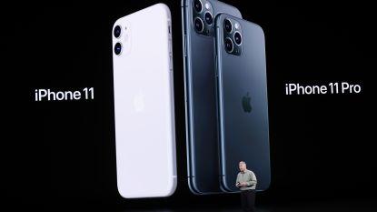 Apple stelt iPhone 11 (Pro) voor: extra camera en zelfs heldere foto's in het donker