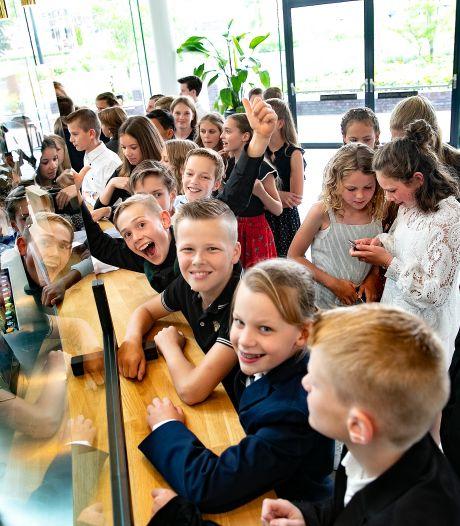 Droompremière voor groep 8 van De Vendelier in Helmond: 'Stiekem leuker dan live op school'