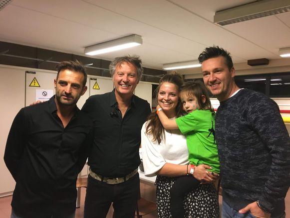 Annalina Vandenborn met De Romeo's en meter Shauni