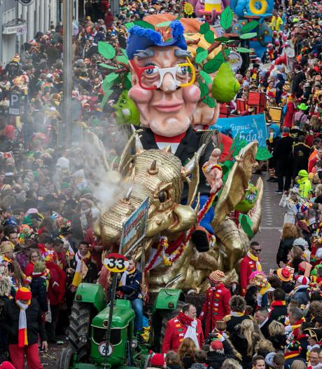 Naar carnavalswagens Oeteldonk kijken, maar niet naar de nieuwe prinsenwagen