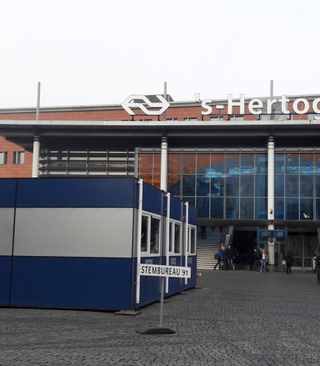 Opkomst nu al 12,5 procent hoger in Den Bosch, extra stembiljetten naar het station