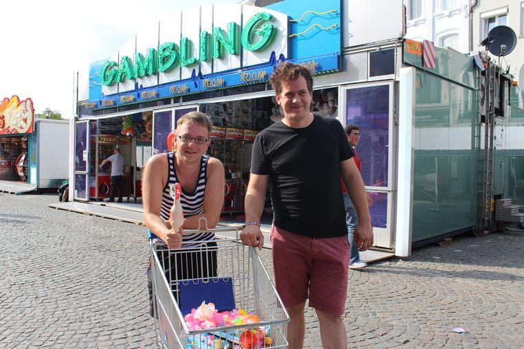 Simon Aelterman en Maarten Hillaert vormen samen Radio Rommelmarkt.