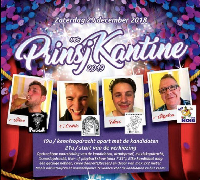 Verkiezing Prinsj Kantine
