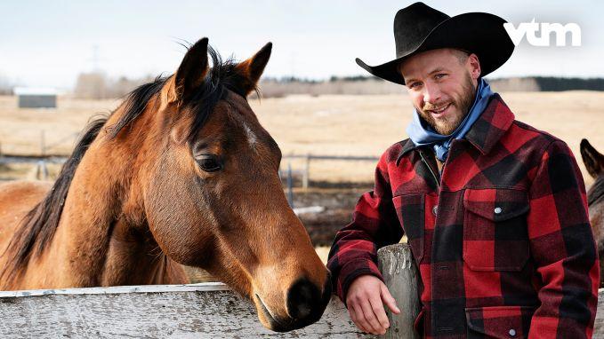 """De laatste boer die aan de beurt is in 'Boer zkt Vrouw' , is """"horseman"""" Stephan uit Canada"""