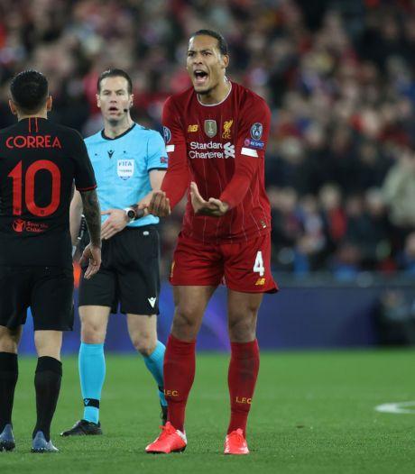 Virgil van Dijk: 'Oblak hield Atlético Madrid in leven'