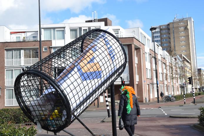 Natuurlijk de afvalbak in bij de Bredaseweg.
