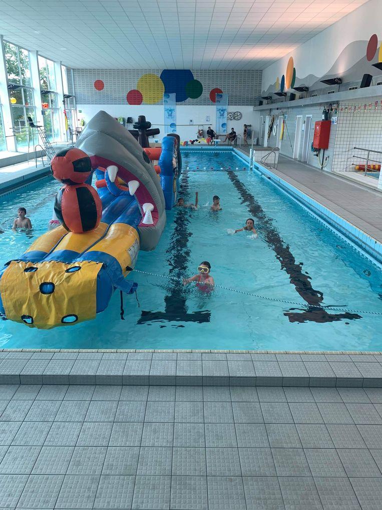 Het zwembad van Torhout.