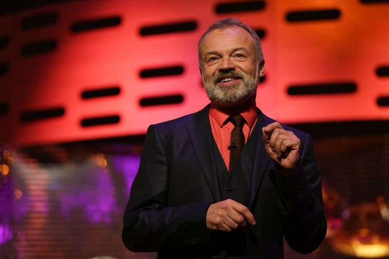 Talkshowkoning Graham Norton.