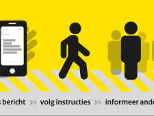 NL-Alert maandag voor het eerst ook via digitale reclamezuilen