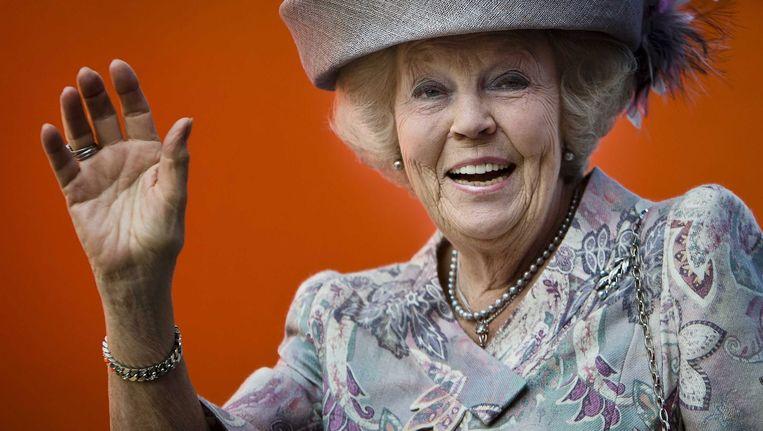 Prinses Beatrix in Amstelveen Beeld epa