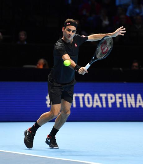 Zege van Federer op Djokovic houdt Nadal op troon