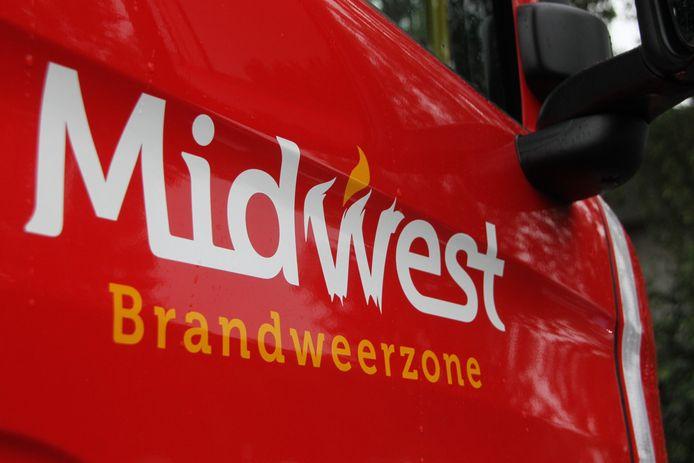 De brandweerzone Midwest snelde ter plaatse en had het vuur snel onder controle.