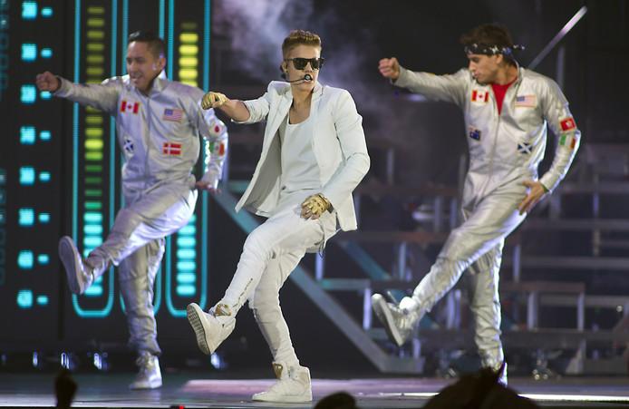 Justin Bieber in een uitverkocht GelreDome.