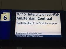 Intercity Direct te vaak vertraagd: 'NS kan alleenrecht op spoor verliezen'