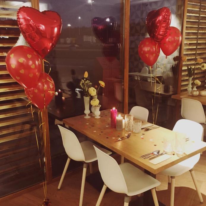 Romantisch dineren langs de A1