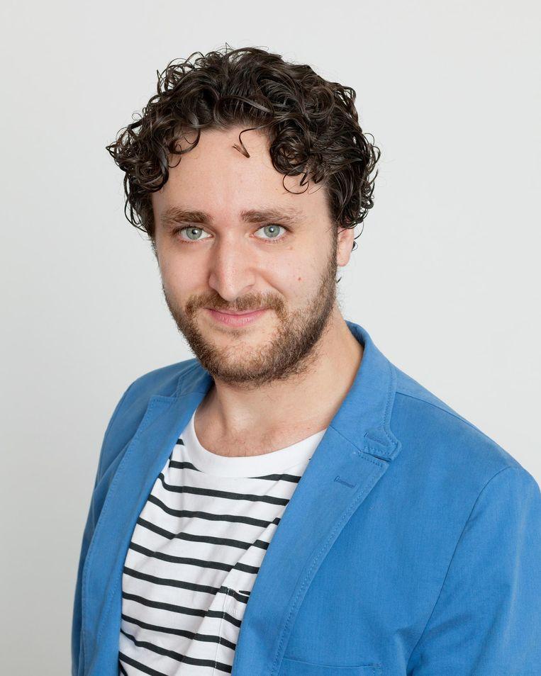 Alain Verheij, schrijver en blogger. Beeld Maartje Geels