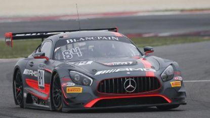Mercedes domineert in Blancpain GT Sprint, Belgen nergens