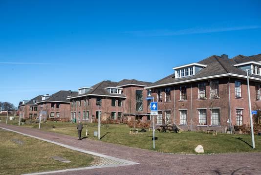 De voormalige kazernegebouwen op Saksen Weimar: nu een ruime woonwijk.
