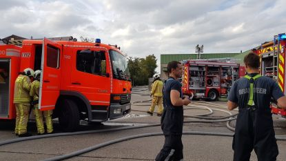 Brand bij Clean Lease in Hoogstraten