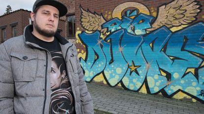 Graffitikunstenaar maakt eerbetoon voor overleden vriend