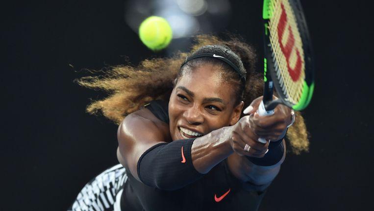 Serena Williams Beeld afp