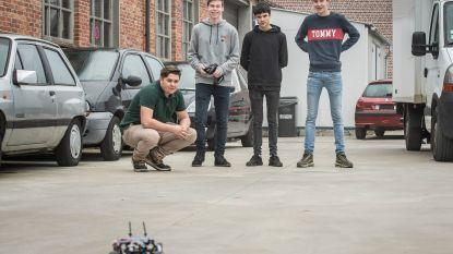 Leerlingen VTI naar WK voor telegeleide wagentjes op waterstof
