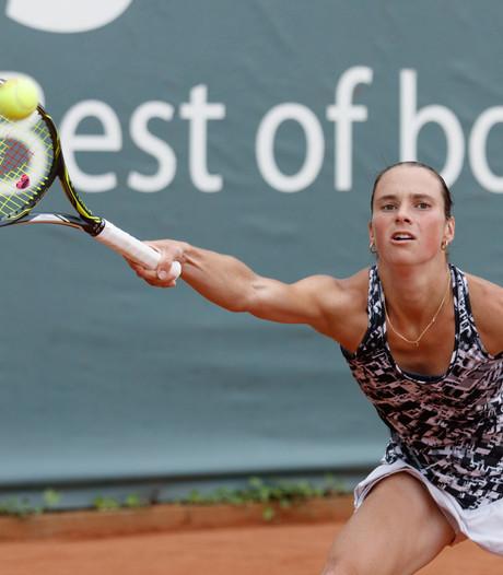 Bibiane Schoofs verrast met halve finale WTA-dubbel