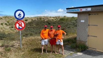 Koksijde Vooruit houdt ludieke protestactie tegen afschaffing zwemzone Duinpark bij de start van het seizoen