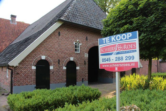 Neede hessenboerderij De Meijer in openbare verkoop.