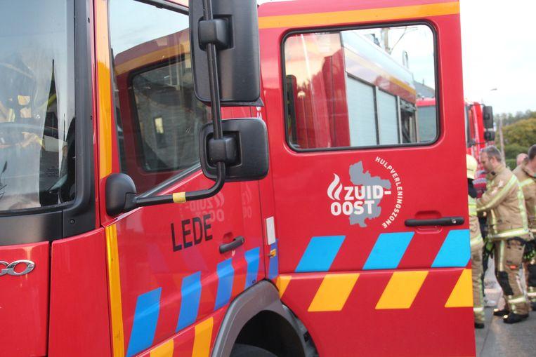 Brandweer Lede Brandweerzone Zuid-Oost Autopomp