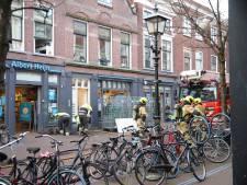 Albert Heijn en studentenwoningen ontruimd om gaslekkage aan Delftse Choorstraat