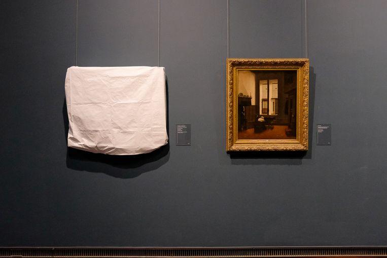 Kunstwerken worden tegen het vocht beschermd