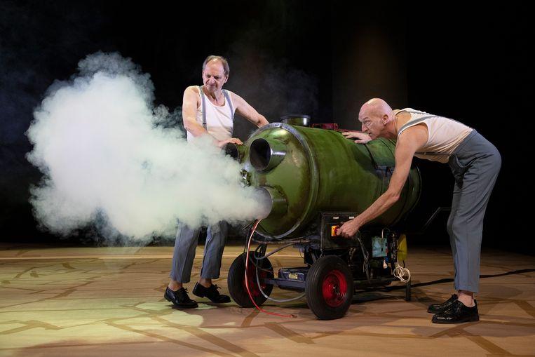 Martin van Waardenberg en Wilfried de Jong. Beeld null