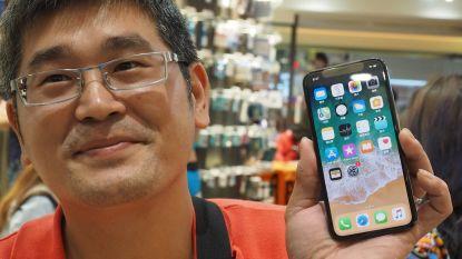 iPhone X in solden, Apple schroeft productie terug