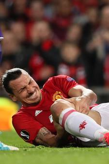 Man Utd bevestigt zware kruisbandblessure Zlatan