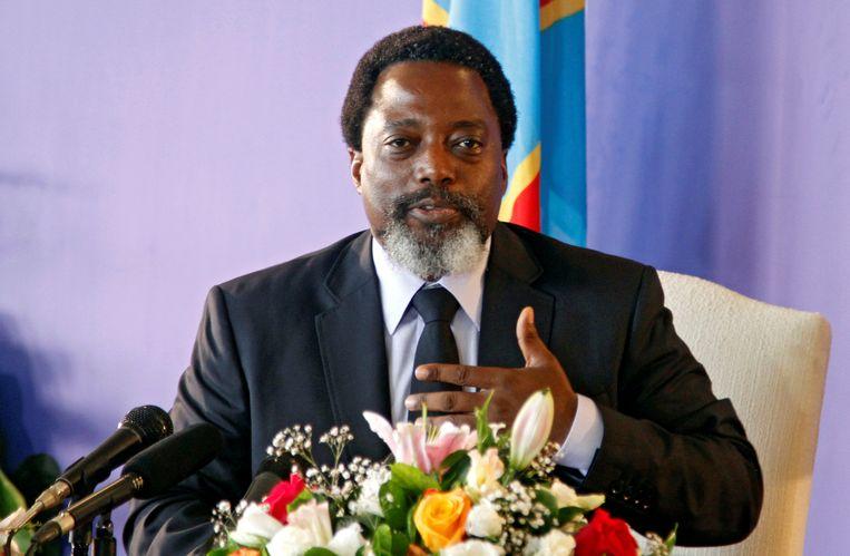 Huidig president Joseph Kabila