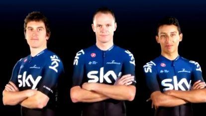 KOERS KORT. Froome, Thomas en Bernal stellen nieuw shirt van Sky voor - BeNe Ladies Tour gaat volgend jaar van start in Utrecht