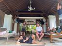 De medewerkers van marketingbureau Brandfirm zitten elk jaar een paar maanden in een villa op Bali.