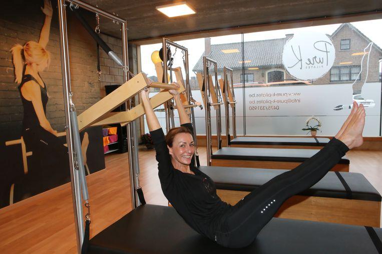 Kelly opende afgelopen weekend haar eigen pilatesstudio.