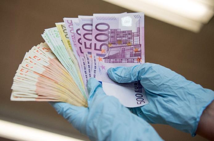 contant geld Duitse afranselen
