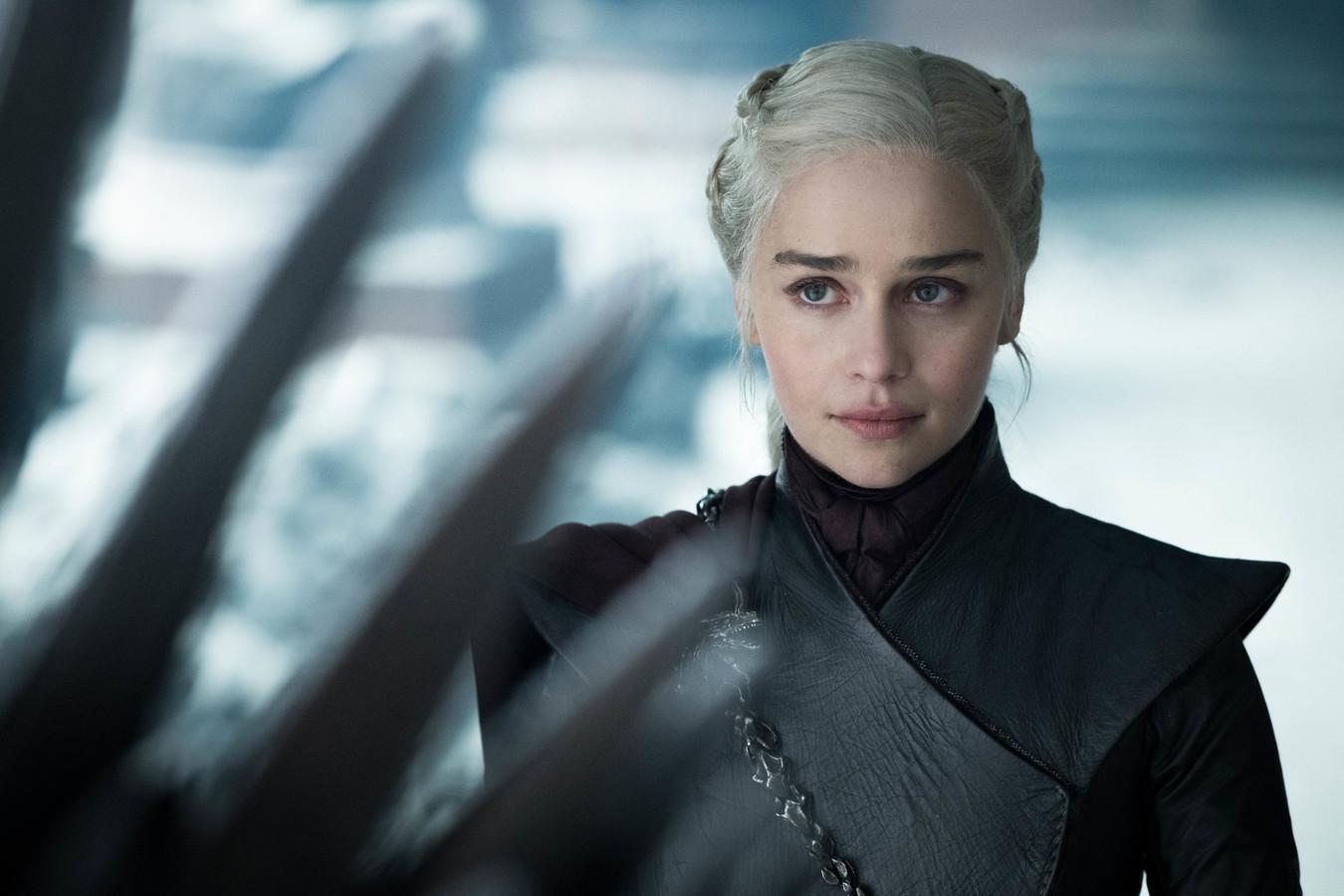 Emilia Clarke als Daenerys Targaryen in 'Game Of Thrones'.