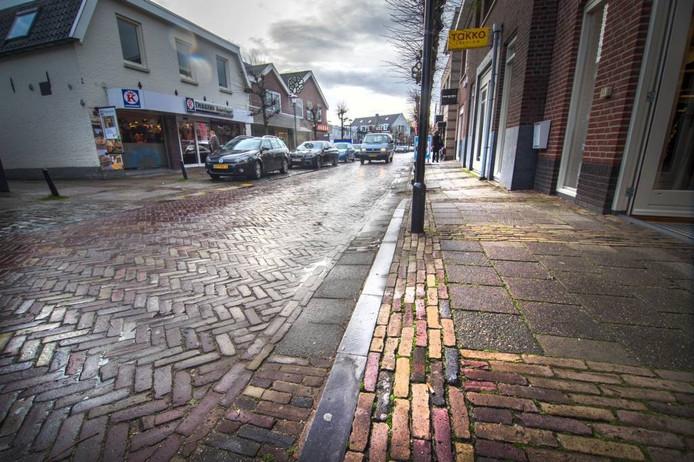 De Hogestraat in Druten. Foto Eveline van Elk