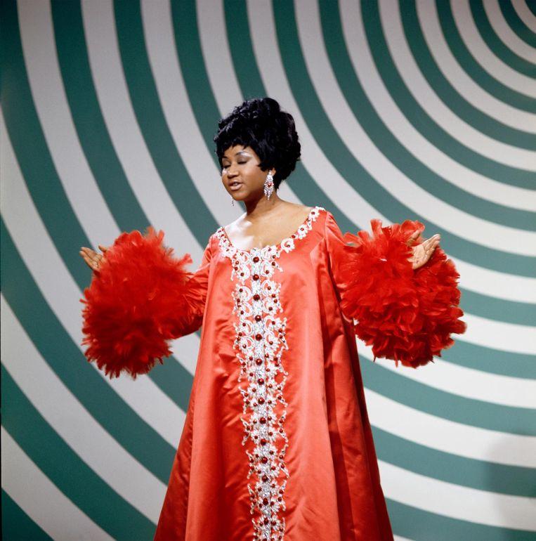 Aretha Franklin. Beeld null