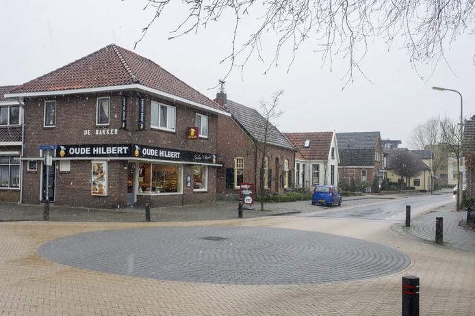 Bakkerij Oude  Hilbert aan de Nieuwstraat/hoek Huenderstraat in Eibergen.